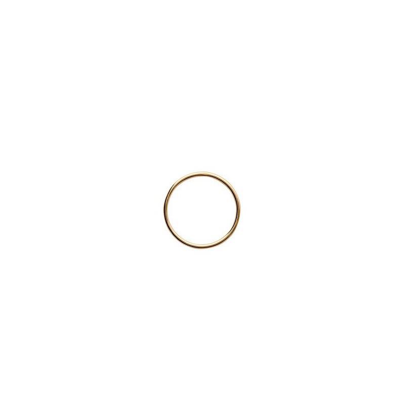Pandantiv cerc placat cu aur