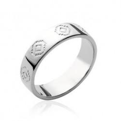 Inel model traditional din argint