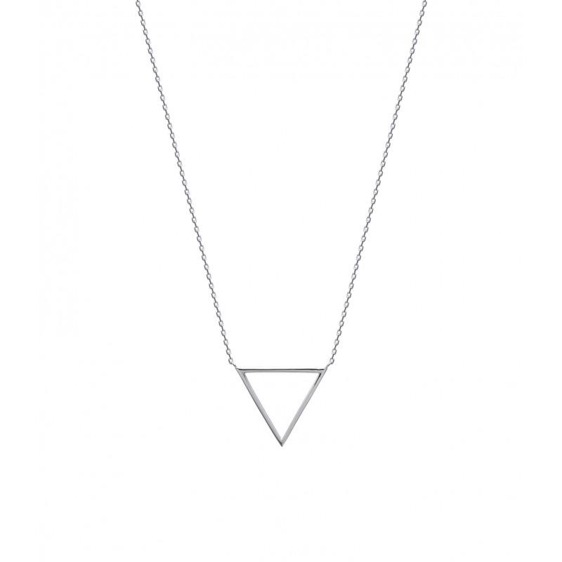 Colier triunghi argint