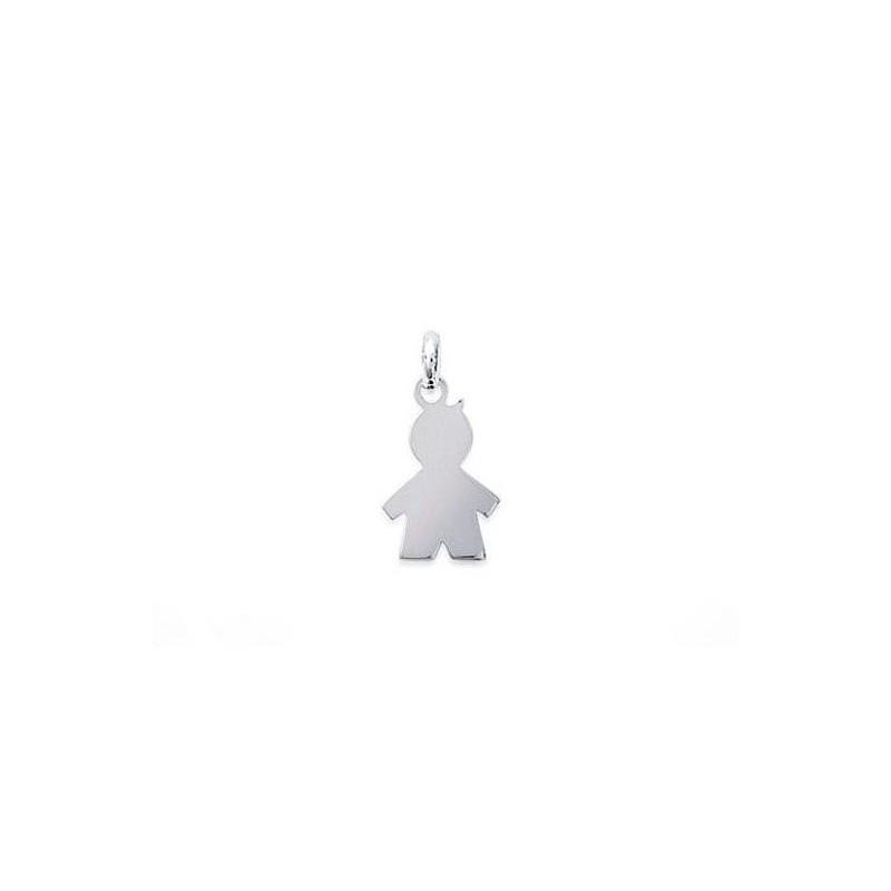 Pandantiv baietel mic din argint
