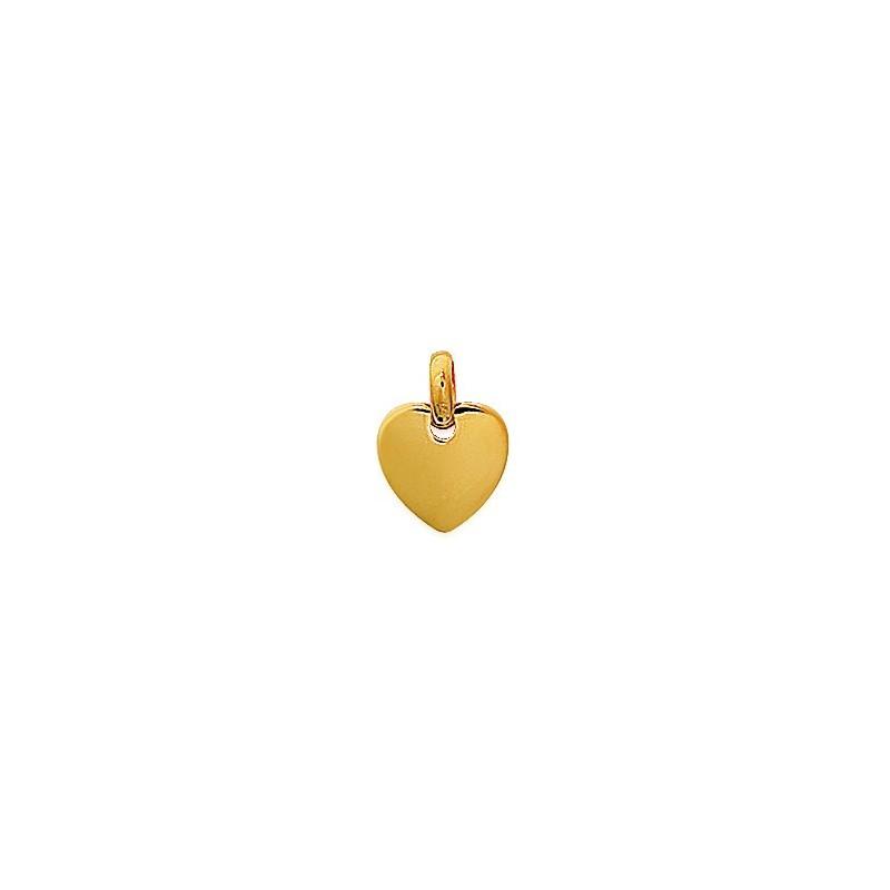 Pandantiv inima placata cu aur (centru)