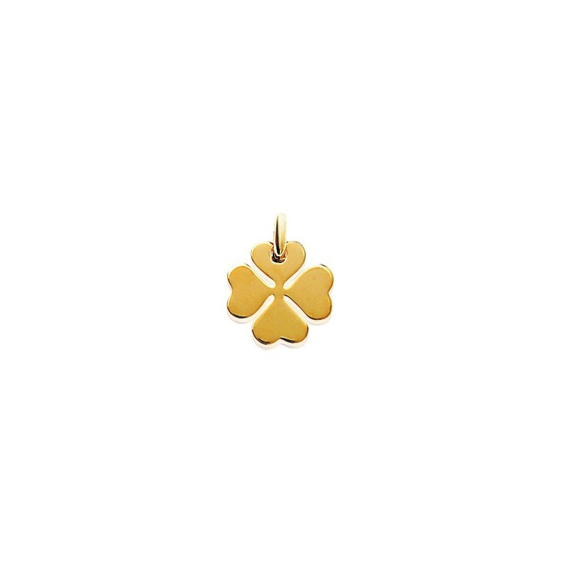 Pandantiv trifoi placat cu aur