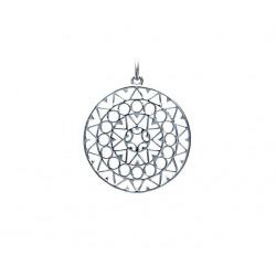 Pandantiv mandala argint