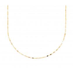 Colier minimal placat cu aur